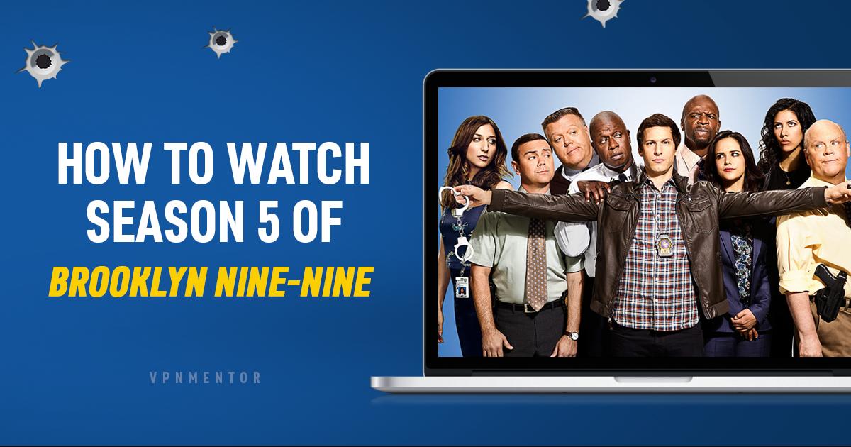 """Как да гледате 5-ти сезон на """"Бруклин 9-9"""" от всяка точка на света"""