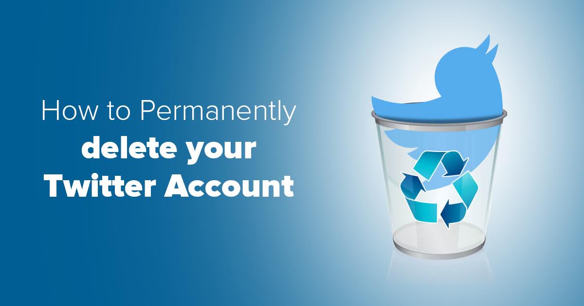 Как напълно да изтриете своя профил в Twitter в 7 лесни стъпки