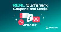 Surfshark купон за  2021: Спестете 85% с тази ексклузивна отстъпка!